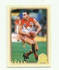 2012 AFL ETERNITY HALL OF FAME SYDNEY SWANS PAUL KELLY HF189 card FREE POST