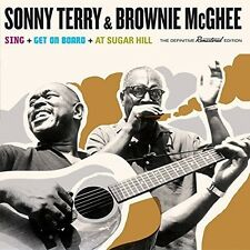 Sonny Terry - Sing + Get on Board + at Sugar Hill [New CD] Spain - Import