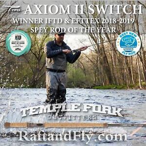 TFO Axiom II Switch 6wt - Lifetime Warranty - Free Shipping