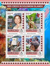 Solomon Islands 2016 MNH Red Cross 4v M/S Medical Health Stamps