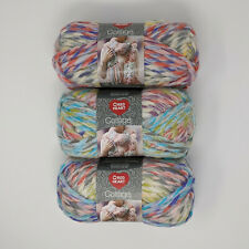 Red Heart Collage Circus Lot of 3 Skeins 141g 55yds