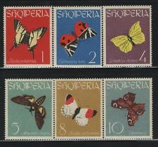 Albania MNH Sc 691-96 Mi 773-78  Butterflies