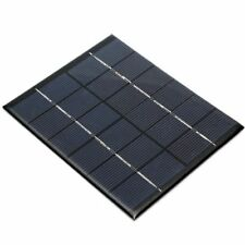 6V 2W Solar Panel Module For Light Battery Cell Phone Charger DIY