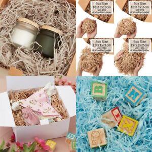 Shredded Tissue Paper 'Multiple Colours' for Gift Box - Straight Cut 10g-250g