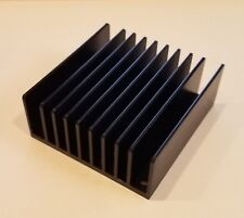 2pcs 61x58x12.7mm Anodized Aluminum Heat Sink for LED Power Transistor Relay