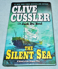 THE SILENT SEA by CLIVE CUSSLER & JACK DU BRUL  2010 HARDCOVER    FREE SHIPPING