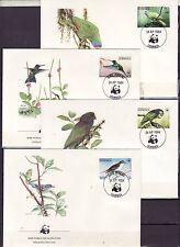 Dominica 1984 - FDC - Vogels/Birds/Vögel  WWF