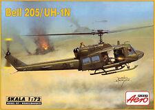 "Bell 205 (Huey)/UH 1 N ""opérations spéciales'S 1/72 AEROPLAST"