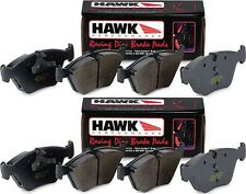 HAWK HP+ 1997-2013 CHEVROLET CHEVY CORVETTE C5 C6 HP PLUS FRONT REAR BRAKE PADS