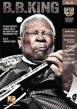 Guitar Play-Along B.B. King Learn to Play JAZZ Sweet Sixteen 16 Blues Music DVD