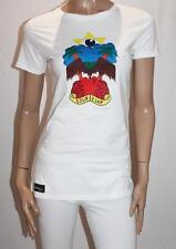 Earth Positive Brand White Printed Short Sleeve Tee Size S BNWT #SH22