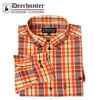 *Deerhunter Milton Shirt - R30 Red/Green Check Country Hunting Shooting