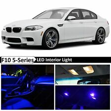 20x Blue LED Light Interior Package for 2011-2015 BMW 5 Series M5 535i 550i F10