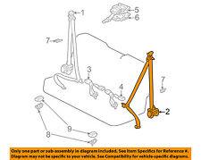 TOYOTA OEM Sequoia Rear Seat Belt-Belt & Buckle Retractor Left 735700C010E0