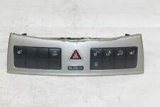 2006 MERCEDES CLK500 W209 CONVE #137 HEATED SEATS DOOR LOCK HAZARD ESP SWITCH