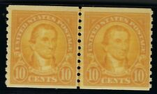 *603, LINE PAIR, FINE-VERY FINE, NEVER HINGE, SCOTT $50.00