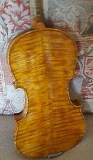 Fine Italian violin labelled 'Michelangelo Puglisi fecit in Catania l'anno 1920'