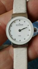 Ladies Skagen Denmark Steel watch 358XSSLWW new battery installed