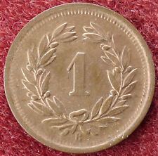 Switzerland 1 Rappen 1921 (D0205)