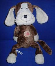Sigikid Schlenker Hund ca 37 cm beige braun sehr guter Zustand