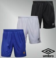 Mens Umbro Printed Logo Sport Polyester Jersey Football Shorts Sizes S-XL