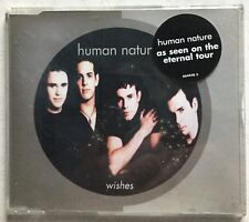 Wishes by Human Nature (CD single, Sony,1997, 4 tracks) Very Good condition.