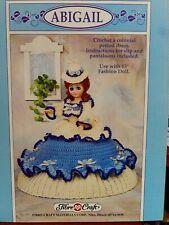 Crochet Motif Fibre Loisirs Créatifs Abigail Colonial Période Robe 1992