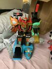 Power Rangers Wild Force Deluxe Isis Command Megazord 2002