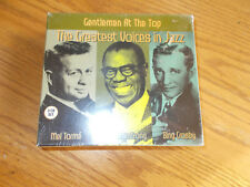 GENTLEMEN AT THE TOP 3 DISC CD BOX SET THE GREAT VOICES IN JAZZ BRAND NEW SEALED