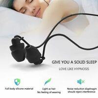 NEU Schlaf Kopfhörer Ohrstöpsel Ultra-weiche Silikon-Schallisolierung Kopfhörer