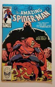 "Amazing Spider-Man #249 (1984) NM 9.4 - Hobgoblin, Kingpin Appearance! ""Secrets!"