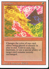 MAGIC THE GATHERING REVISED RED RARE CHAOSLACE