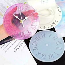 2020 Silicone Mold Jewelry Big Clock Resin Mould Handmade Molds Tool Epoxy O0L7