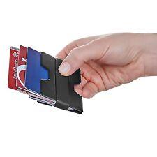 RFID Wallet Money Clip Aluminum Mens Slim Blocking Credit Card ID Holder
