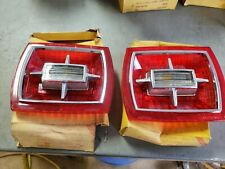 Pair NOS 1966 Ford Galaxie 500 XL 7 Litre Tail light Lens Made by Glo Brite Lamp