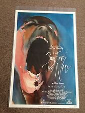 Pink Floyd The Wall 1982 Original Rolled Movie Poster Drama Musical Gerald Scarf