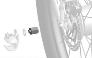 Thule adapter for Gear hub systems SRAM M10x1.0