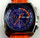 WATCH CHRONOSTAR OROLOGIO CHRONO OVERSIZE 45MM RELOJ ACCIAIO 006620 NUOVO