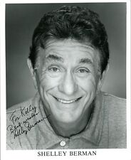 Comedy Legend SHELLEY BERMAN Signed Photo