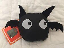 NWT HALLOWEEN /TRICK-OR-TREAT BAG REUSABLE COMPACT SHOPPING/TOTE BAG - BLACK BAT