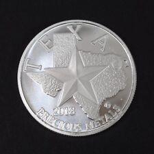 2018 Silver Round Coin Texas Precious Metals 1 Troy Oz .9999 Silver
