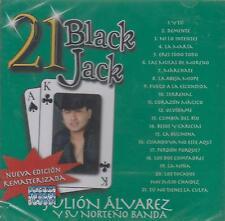 CD - Juan Alvarez Y Su Norteno Banda NEW 21 Black Jack FAST SHIPPING !