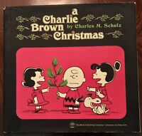 ' A CHARLIE BROWN CHRISTMAS ' by :  Charles M. SCHULZ : 1st. edition : 1965.