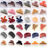 Women Crystal Metal Acrylic Hair Clip Claw Comb Barrette Hair Crab Hairpin Lot