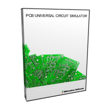 NEW - PCB CAD Printed Circuit Board Design Schematic Wizard Type Simulation Soft