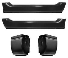 Rocker Panel Cab Corner Kit for 02-08 Ram 1500 2500 3500 2dr Standard Cab PAIR