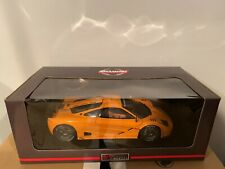 UT MODELS 1:18 MCLAREN F1 LM PAPAYA ORANGE DIECAST COMPLETE W/ ORIGINAL BOX RARE