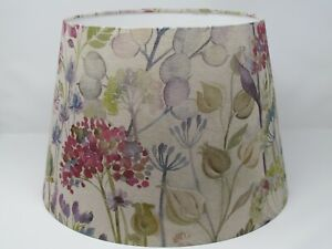 **  SALE  ** Lampshade Tapered Voyage Hedgerow Floral Flowers Linen Empire