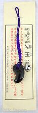 勾玉 MAGATAMA Piedra alma - Piedra amuleto - Onyx - fabricado en Japón 02