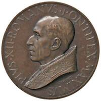 r38_72) Medaglia Pio XII (1939-1958) 1950 AE Opus: Mistruzzi Ø 44